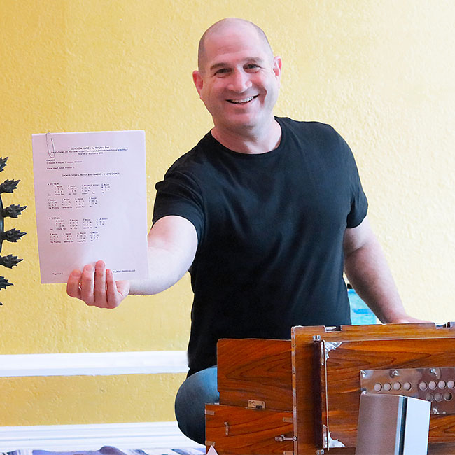 Mike Cohen Kirtan Chant Sheets
